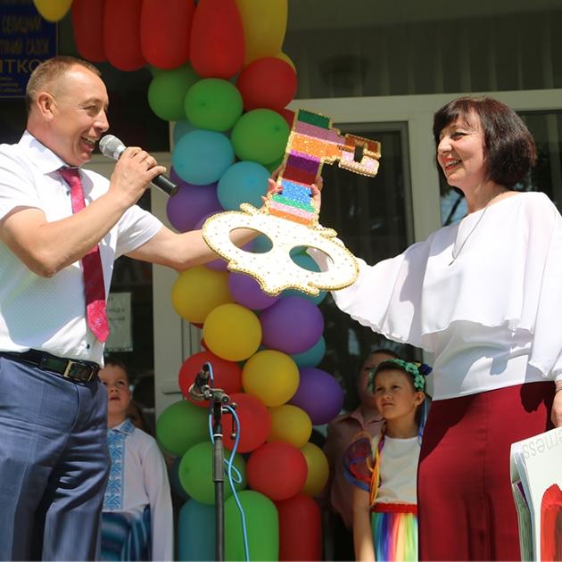 Про нас пишуть: у Вишнівецькій ОТГ запрацювала ще одна дитсадкова група (фоторепортаж)