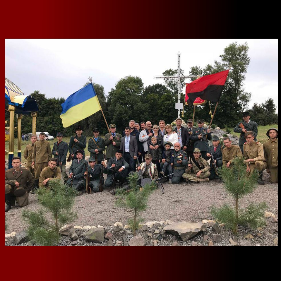 На Вишнівеччині на місці бою УПА освятили каплицю та здійснили реконструкцію подій