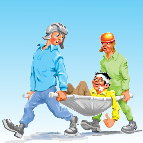 При втраті працездатності у перший день роботи лікарняні розраховуються з посадового окладу