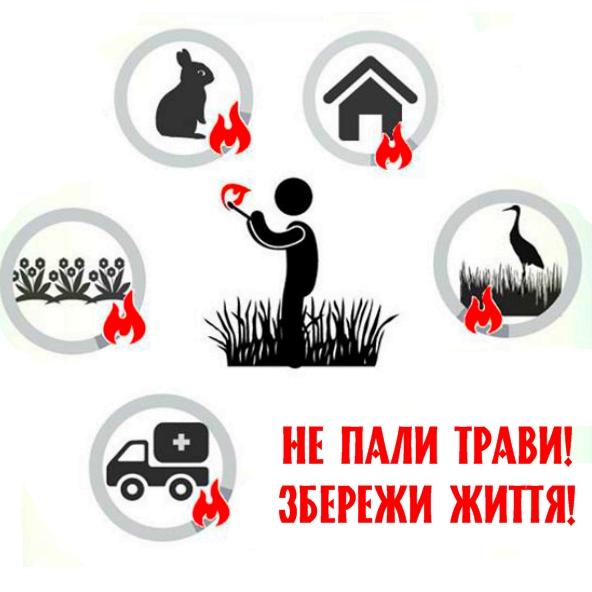 Про відповідальність за спалювання рослинності