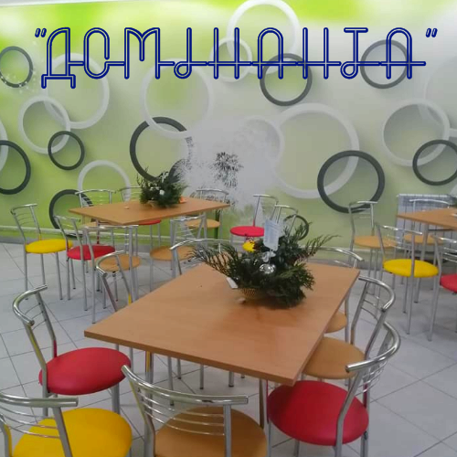 """Довгоочікуване відкриття інтелект- кав'ярні """"Домінанта"""" у Вишнівецькій ЗОШ I- III ст відбулося!!!"""